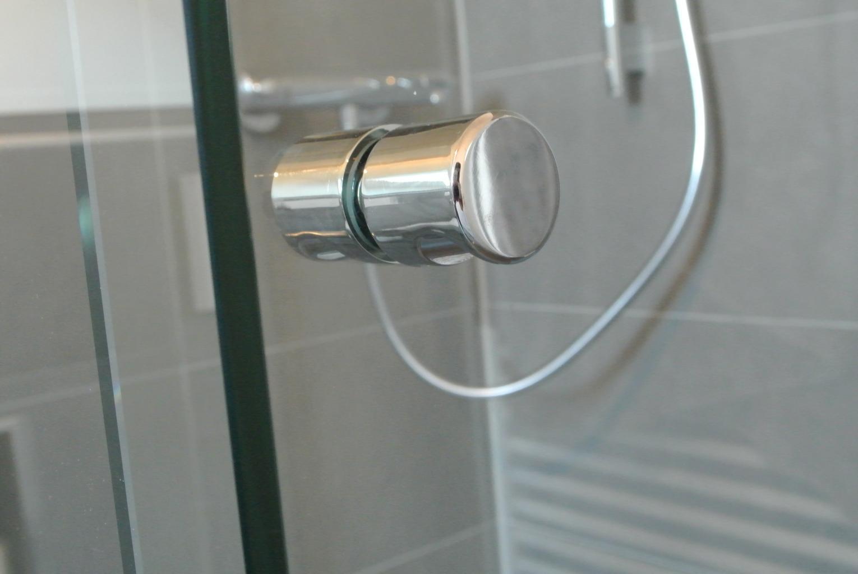 Standard Duschtürknopf rund