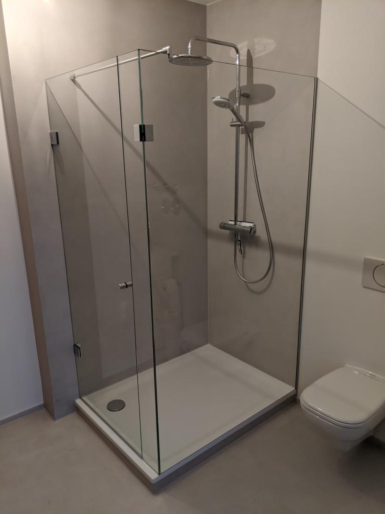 ohne Dichtung duschen geht